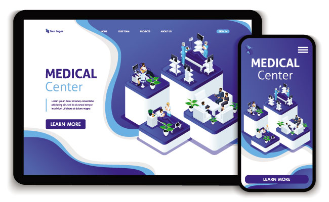 healthcare-website
